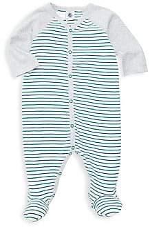 Petit Bateau Baby Boy's Berlito Striped Footie
