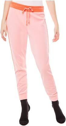 Juicy Couture Velour Color Mix High Waisted Zuma Pant