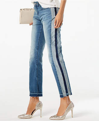 INC International Concepts I.n.c. Two-Tone Ankle Jeans