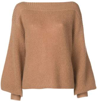 Temperley London bell sleeves jumper