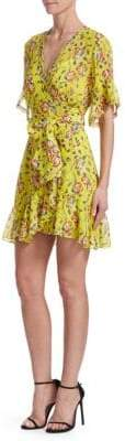 Tanya Taylor Garden Silk Brandy Dress