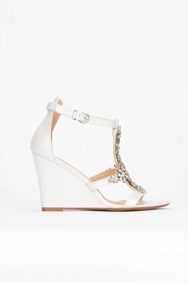 975028f1ac1e75 Monsoon Diana Diamante Jewel Wedge Heels.  44.68  159.06. Get a Sale Alert  View Details. at Wallis. WallisWallis   White Jewelled Wedge Sandal