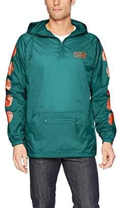 Obey Men's Unwritten Future Hooded Nylon Anorak Jacket