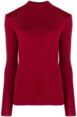 MICHAEL Michael Kors cut-out shoulder sweater