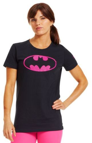 Under Armour Women's Power In Pink Alter Ego Batgirl T-shirt