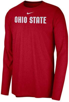 Nike Men's Ohio State Buckeyes Long Sleeve Player T-shirt