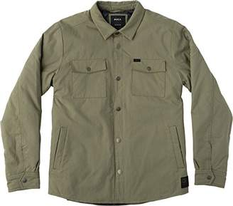 RVCA Men's Officers Shirt Jacket