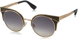Jimmy Choo ORA/S PSU9C (Gold - Black with Black Gradient lenses)