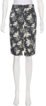 L'Agence Knee-Length Pencil Skirt