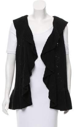 Arabella Rani Sleeveless Rib Knit Sweater