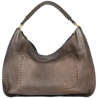 Fendi Metallic Leather Handbag