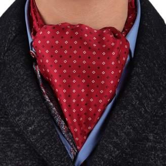 IDEA ERA7B03B Elegant Presents Ideas Silk Mens Ascot Patterned Classic Presents Cravat Design For Marriage By Epoint