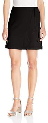 Paris Sunday Women's Ponte Wrap Skirt