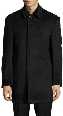 Lauren Ralph Lauren Blended Wool Long Sleeve Jacket