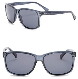 Cole Haan Polarized 56mm Square Sunglasses