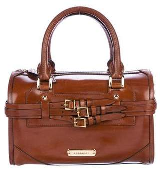Burberry Belted Bridle Satchel