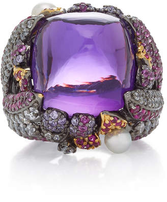 Anabela Chan Sugarloaf Berry 18K Gold Vermeil Multi-Stone Ring