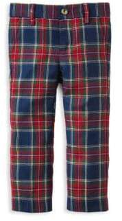 Janie and Jack Little Boy's& Boy's Tartan Plaid Dress Pants