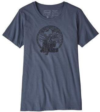 Patagonia Women's High Alpine Organic Cotton Crew T-Shirt