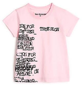 True Religion TYPEWRITER KIDS TEE