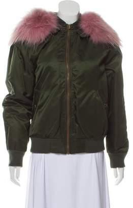 82abf37f532 Mr   Mrs Italy Fur-Trimmed Down Jacket w  Tags