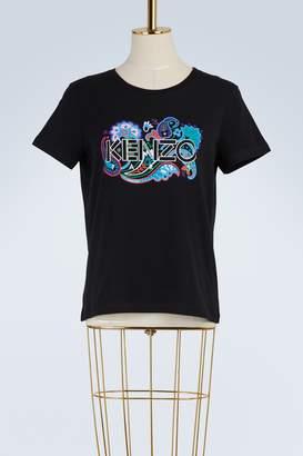 Kenzo Paris paisley cotton T-shirt