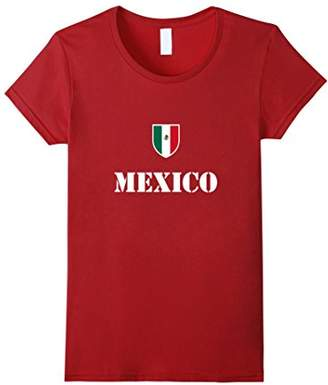 Mexico Soccer T-Shirt Mexican Football Tee Shirt