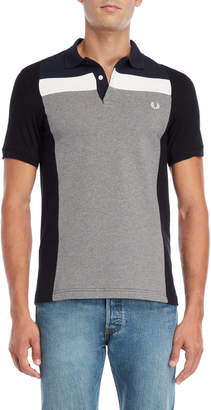 Fred Perry Color Block Pique Knit Polo