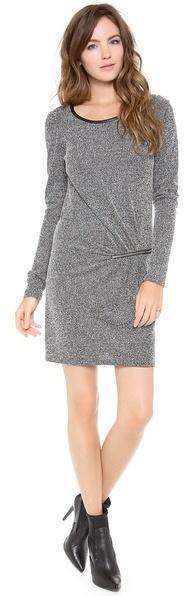 Maison Scotch 3/4 Sleeve Dress with Zip