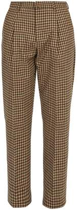 Acne Studios Boston straight-leg wool trousers