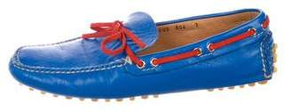 Car Shoe Leather Driving Loafers