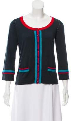 Marc Jacobs Long Sleeve Button-Up Cardigan