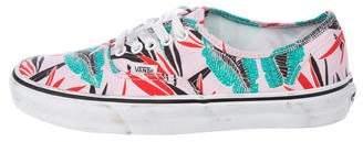 Vans Floral Low-Top Sneakers