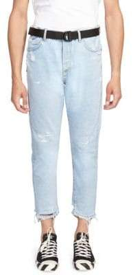Off-White Slim Fit Five-Pocket Jeans
