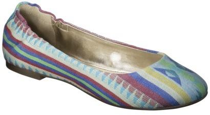 Mossimo Women's Ona Side Scrunch Ballet Flat - Multicolor