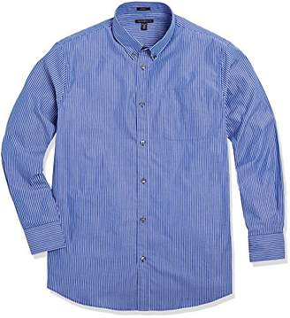 Crafted Collar Men's Classic Fit Button-Down Collar Casual Shirt Gingham