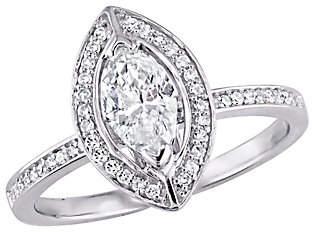 Affinity Diamond Jewelry Affinity 14K Gold 3/4 cttw Marquise-Cut Diamond