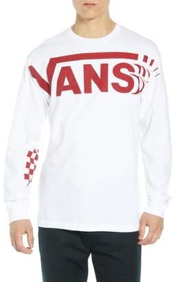 Vans Distorted Long Sleeve T-Shirt