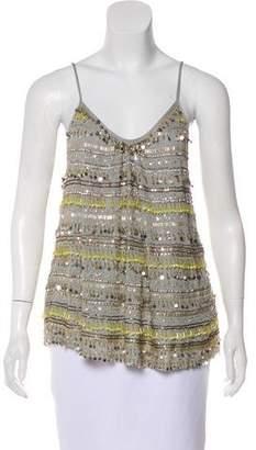 Calypso Sleeveless Embellished Top