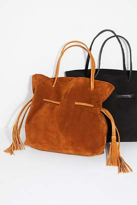 Able Auguste Suede Tote