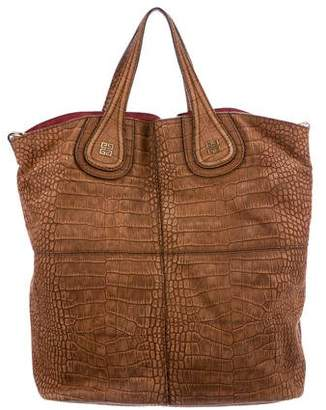 Givenchy Embossed Nightingale Shopping Tote