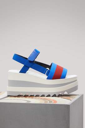Stella McCartney Bicolor sandals