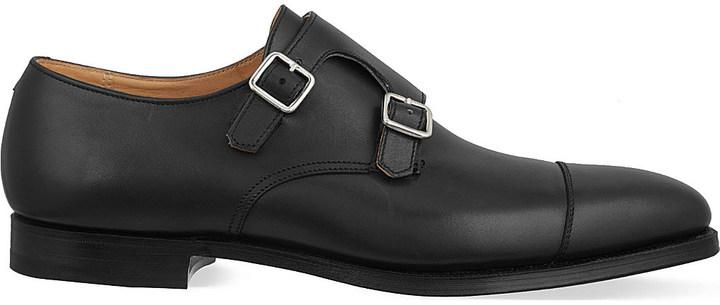 Crockett JonesCrockett & Jones Lowndes double monk shoes