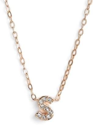 Nadri pink necklaces shopstyle nadri initial pendant necklace aloadofball Choice Image