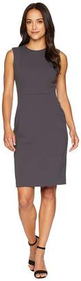 Calvin Klein Solid Sheath Dress CD8C1A00 Women's Dress