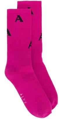 1017 Alyx 9SM A knit socks