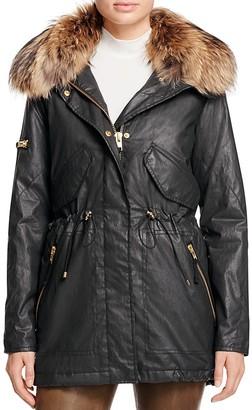 SAM. New Camper Fur-Trim Parka $795 thestylecure.com