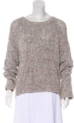 Vince Cable Knit Long-Sleeve Sweater