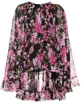 Giambattista Valli Floral silk blouse