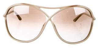 Tom Ford Vicky Oversize Sunglasses